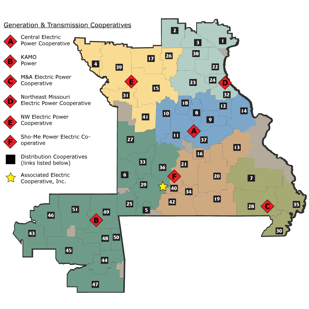 cooperative map